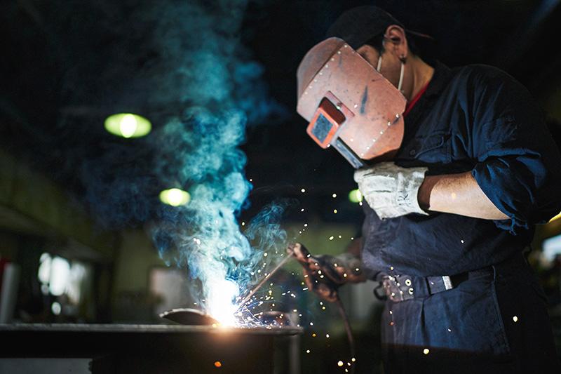 鍛冶工事画像